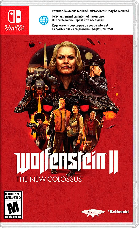 Wolfenstein II y Fire Emblem para Nintendo Switch + Accesorios baratos