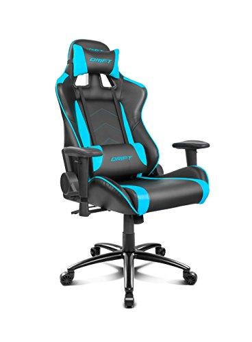Drift Gaming DR150BL - Silla, Azul y tambien en rojo