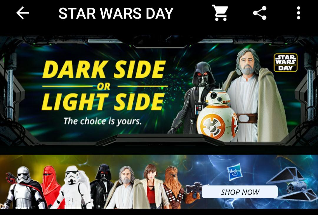 STAR WARS DAY - Ofertas en productos de la saga