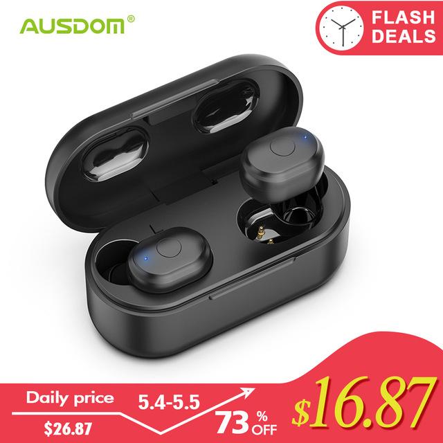 Auriculares inalámbricos Bluetooth AUSDOM TW01 TWS