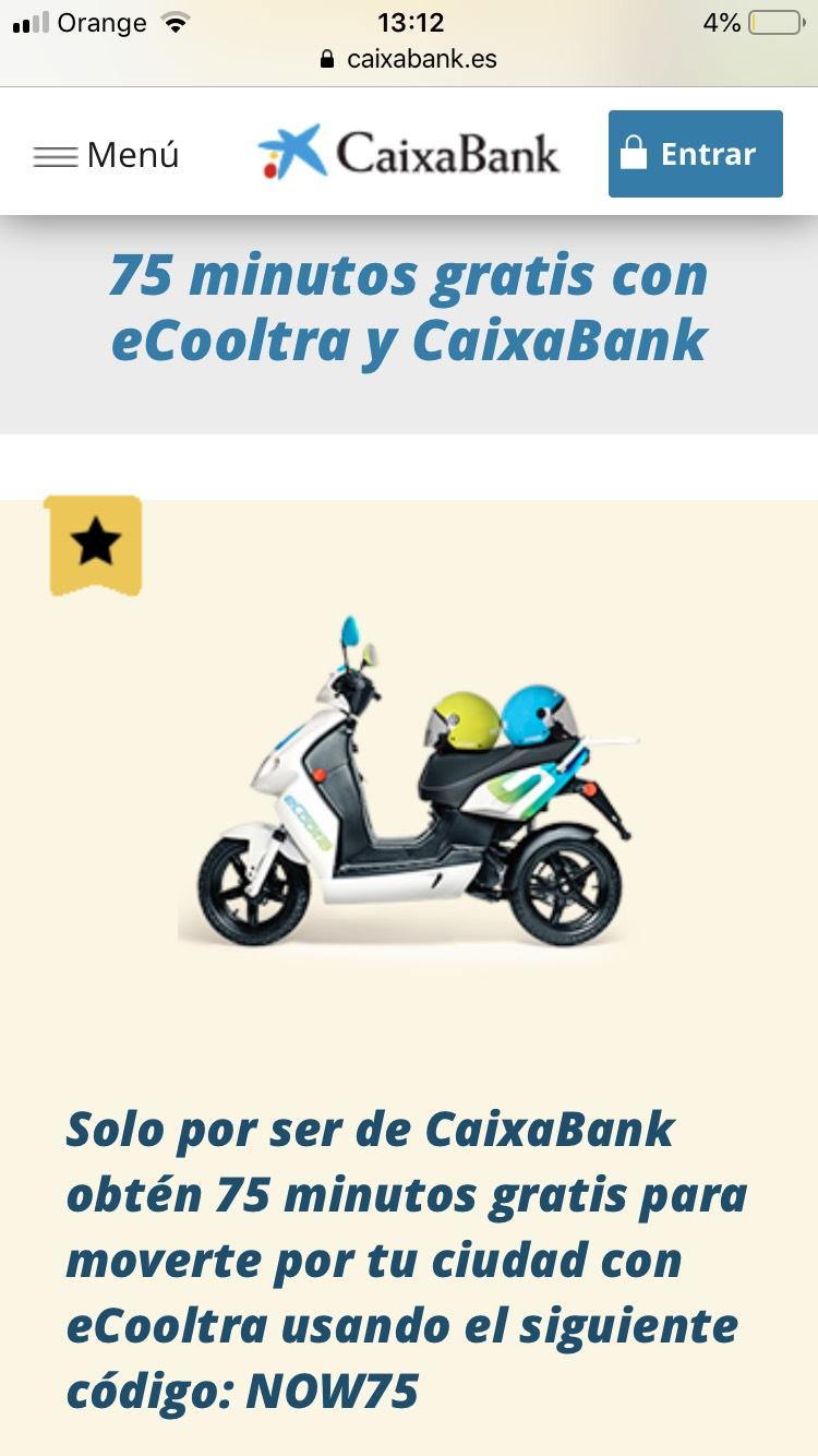 19,50€ GRATIS! Ecooltra nuevos usuarios