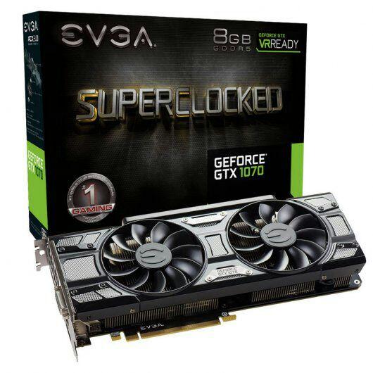 EVGA GeForce GTX 1070 SC ACX 3.0 Black Edition