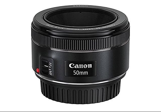 Canon objetivo 50 mm 1.8