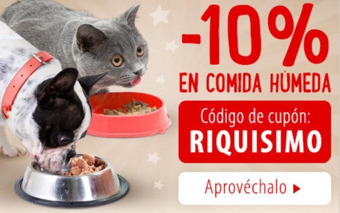 10% Descuento Zooplus Comida Humeda