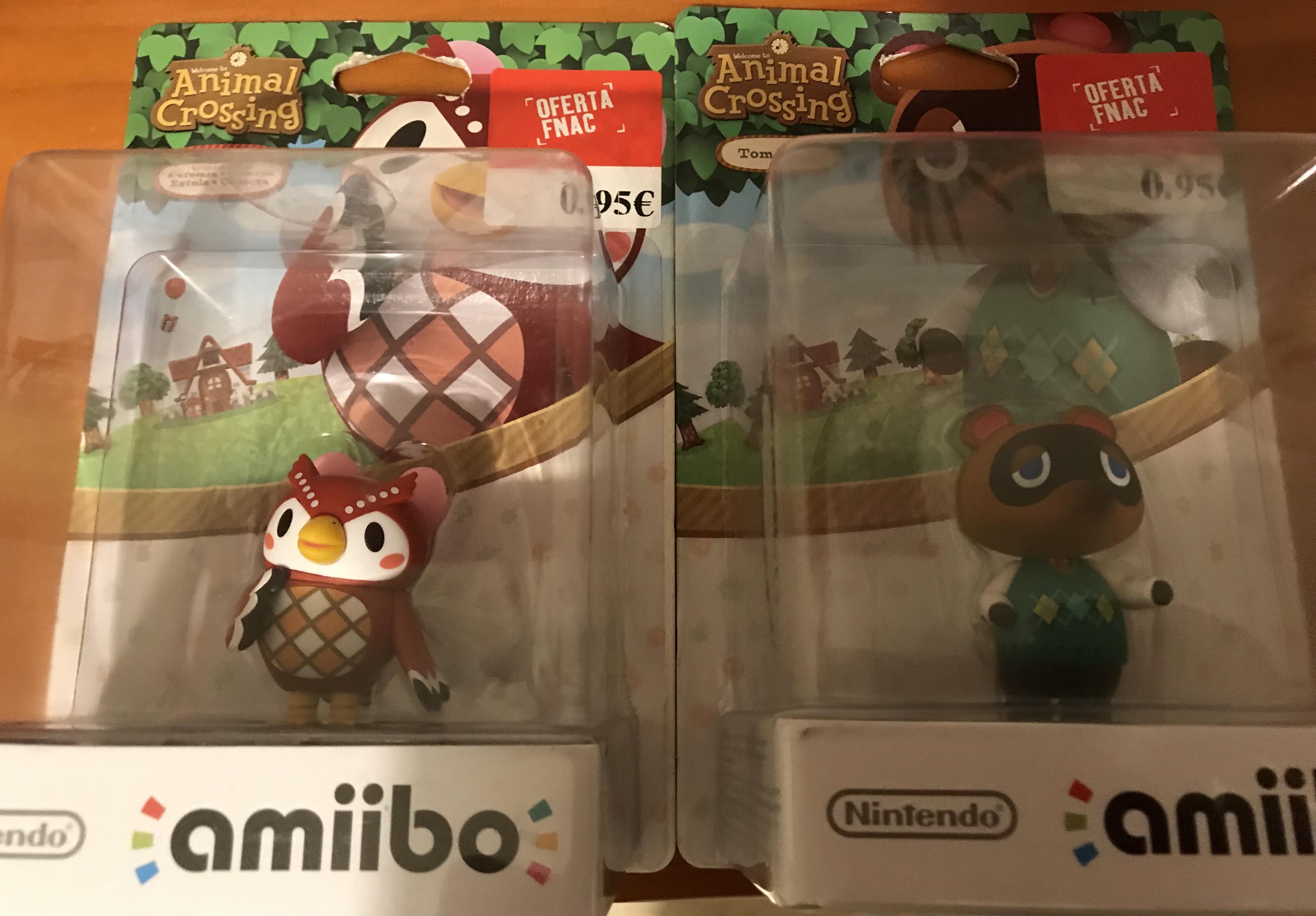 ¡Figuras Amiibo Animal Crossing sólo 0,95€! Fnac Marbella