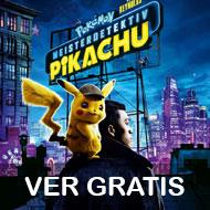 "Ver gratis peli ""Pokémon: Detective Pikachu"" (Socios Fnac)"