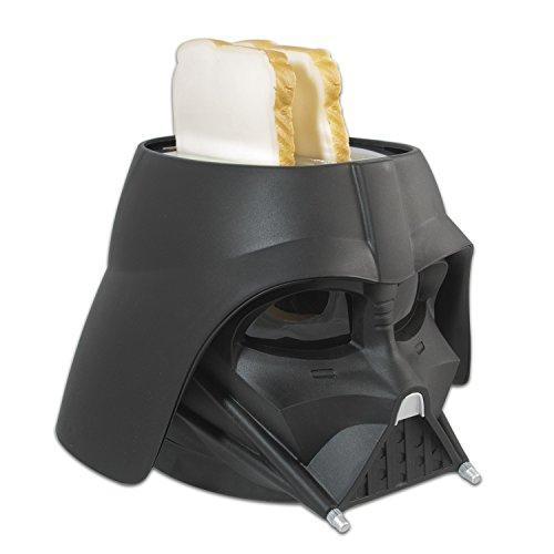 Star Wars Darth Vader Tostadora, 650 W, 2 Ranuras, Negro