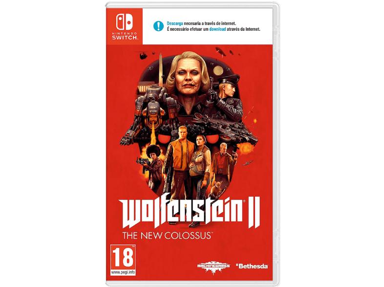 Switch Wolfenstein II (Mediamarkt Maquinista BCN)
