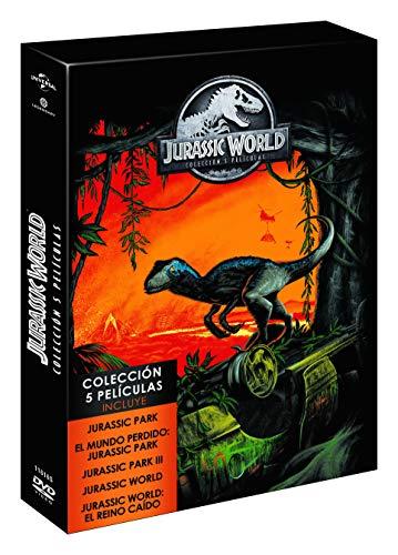 Parque Jurásico Saga 5 Películas Dvd