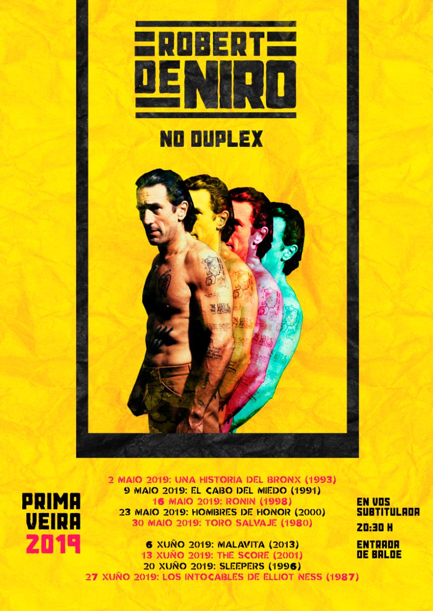 Ciclo de cine GRATIS Robert de Niro cines Duplex Ferrol