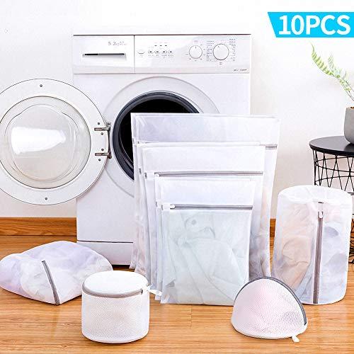 10 bolsas de rejilla para poner la lavadora sin perder los calcetines