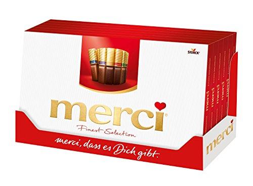 Merci Bombones de Chocolates - 2 Paquetes de 400 gr - Total: 800 gr