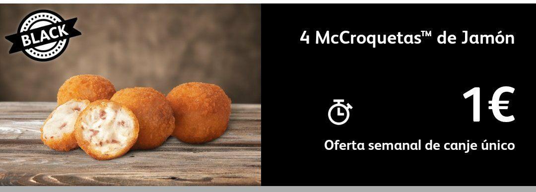 4 McCroquetas a 1€