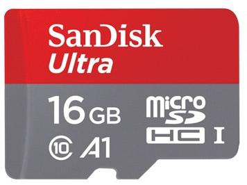 MicroSD SanDisk 16GB por menos de 3€