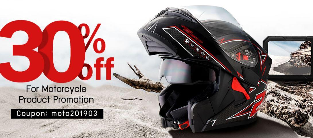 30% de descuento en productos para motocicletas
