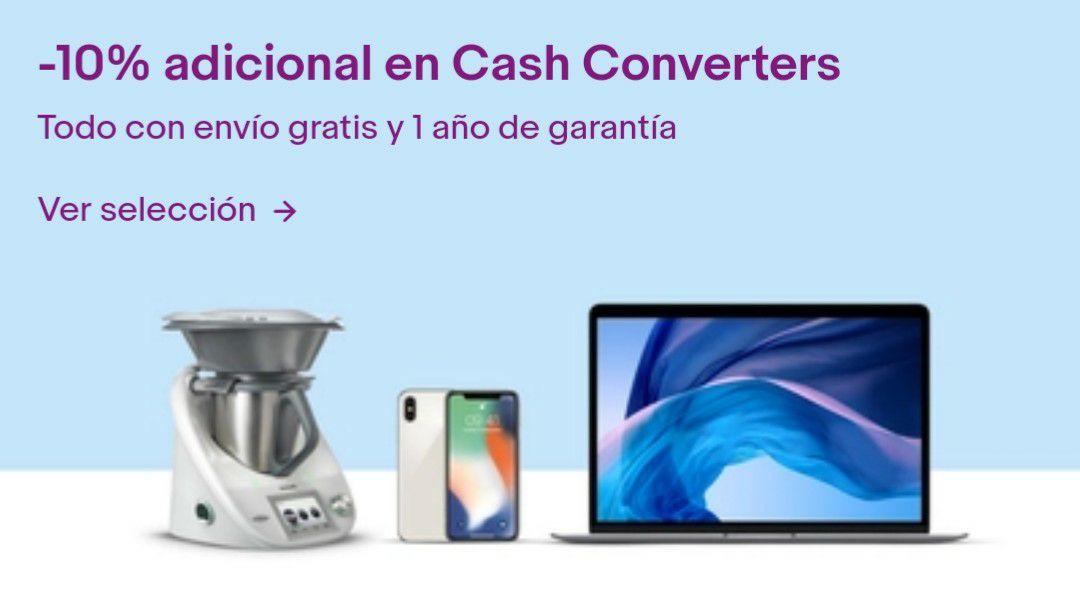 10% de descuento en CashConverters + 5% en tech