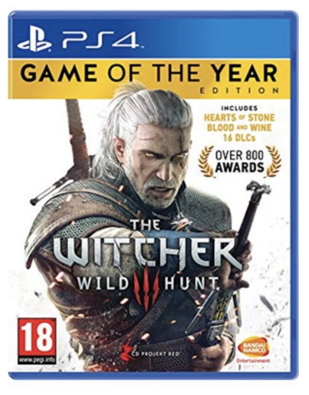 The Witcher 3 GOTY PS4 Físico por 17€