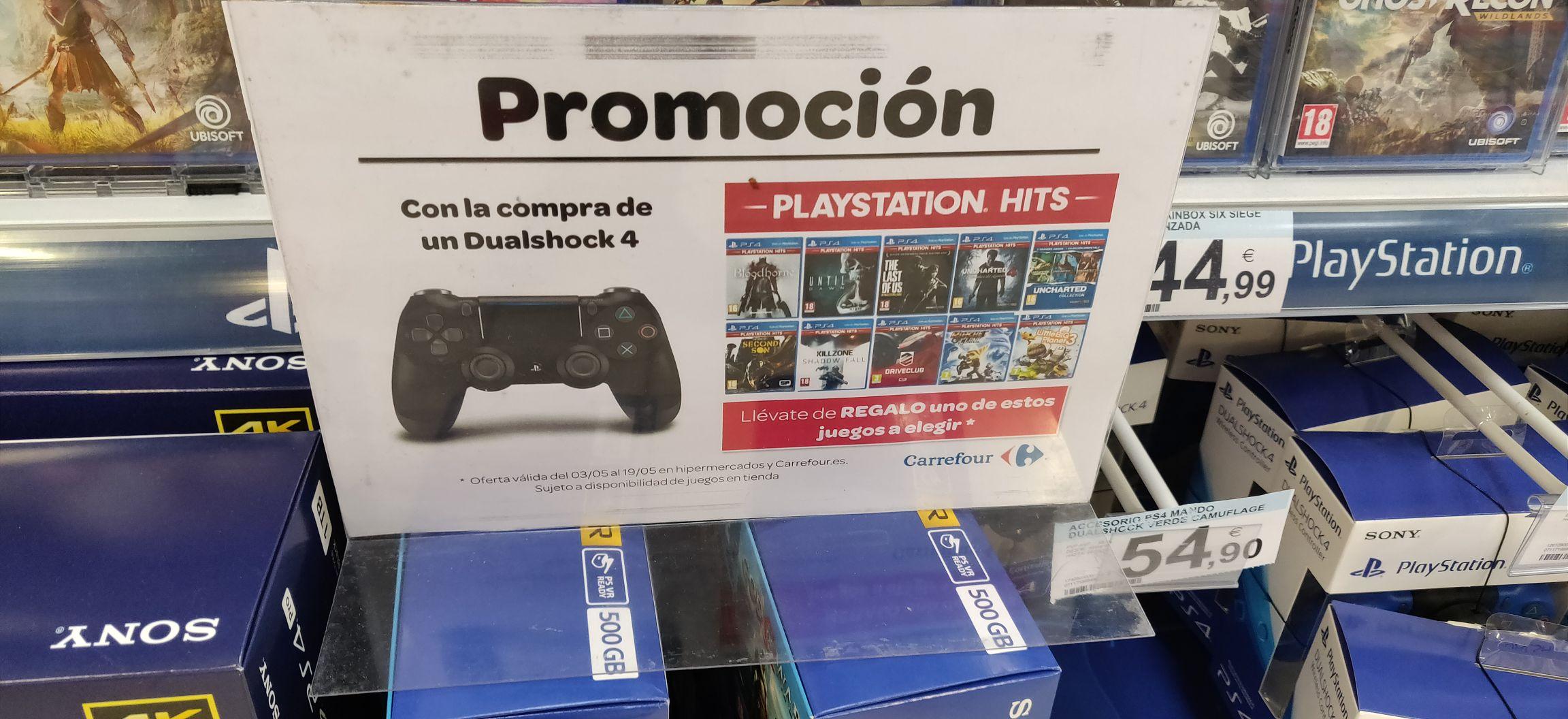 Mando PS4 + juego gratis