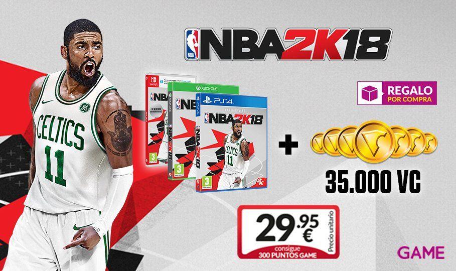 NBA 2K18 + 35.000 VCs
