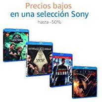 Hasta un 50% en Películas de Sony
