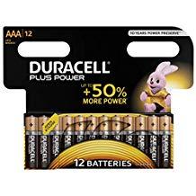 Descuentos en Pilas Duracell Plus Power (AA, AAAA, D)