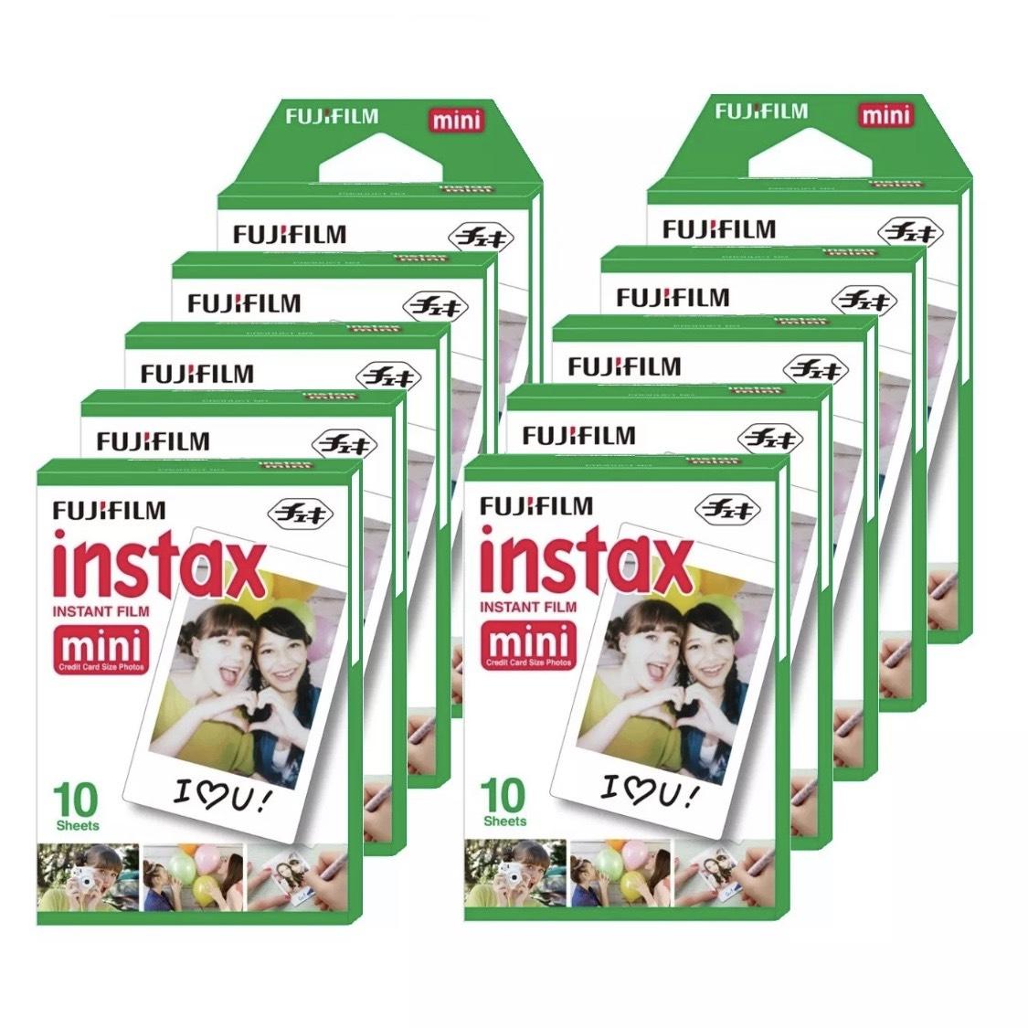 100 recambios Instax Mini