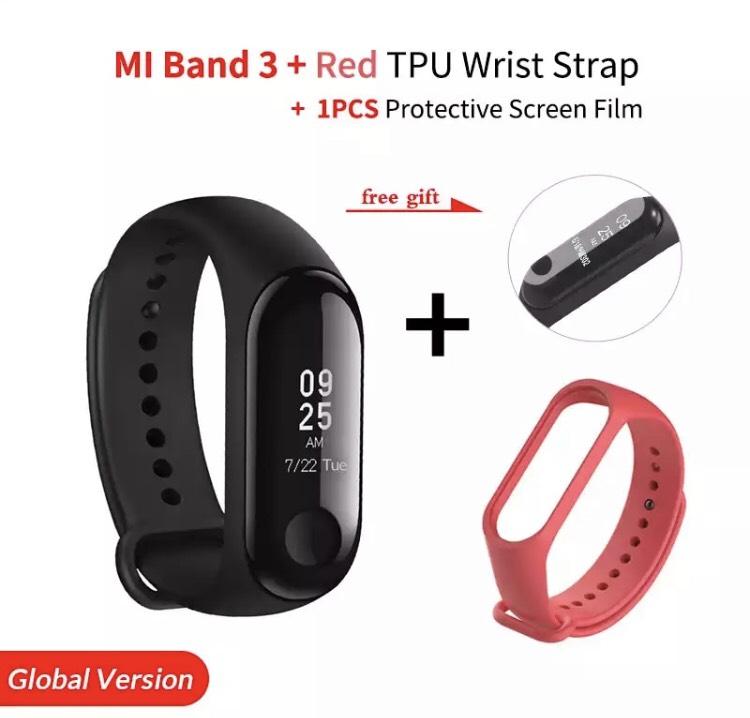 Vuelve el Pack de Mi Band 3 + pulsera + protector desde España por 19€