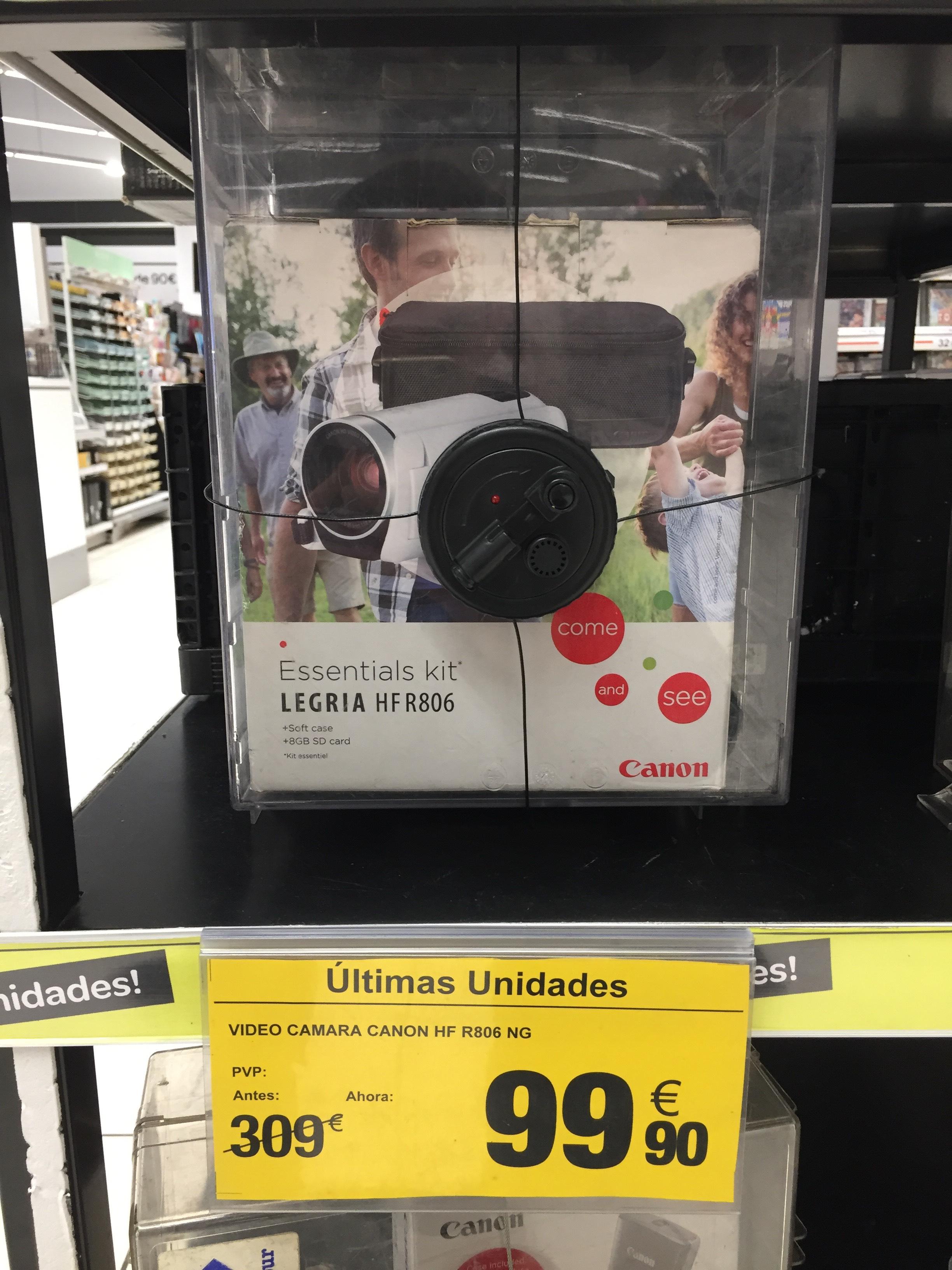 Video camara canon hf r806 ng