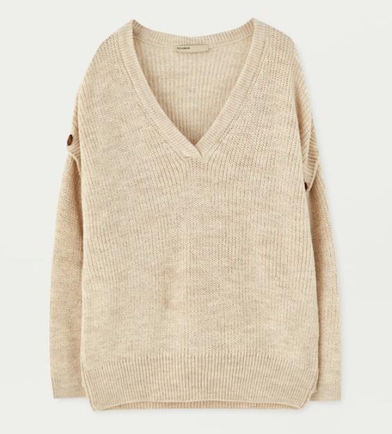 Jersey chaleco para mujer talla S Pull&Bear