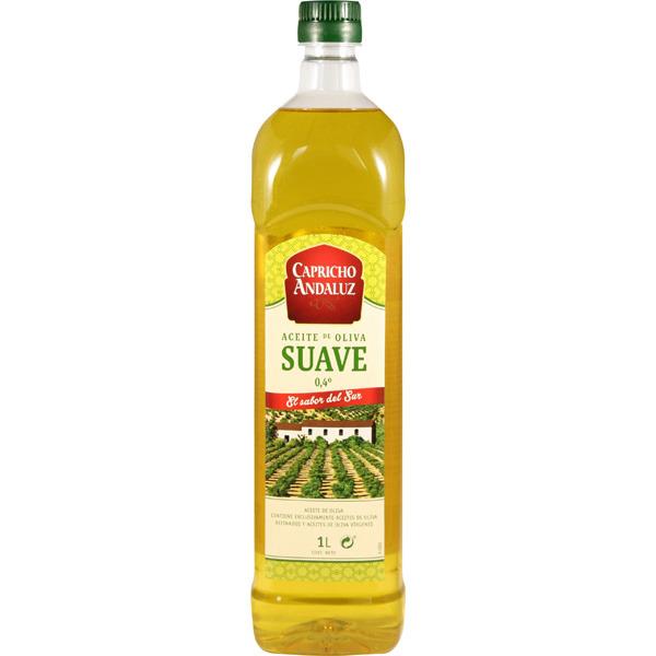 2×1 aceite oliva suave y virgen capricho andaluz