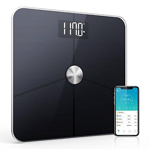 Báscula con escala de grasa corporal