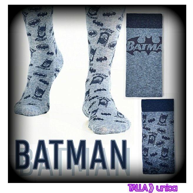 Pack de 2 calcetines de Batman.  (GRISES)