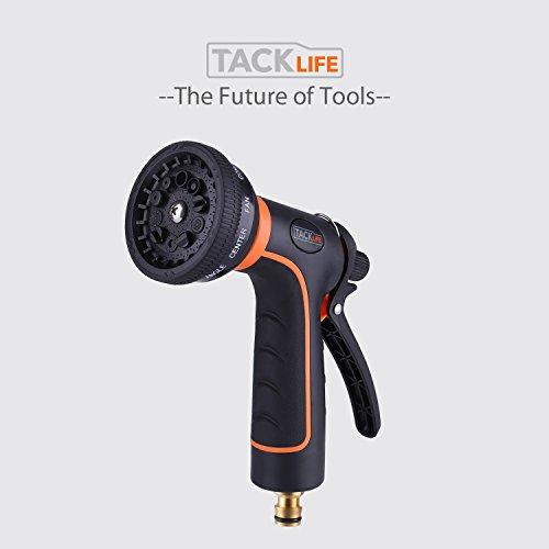 Oferta Flash Pistola de riego Tacklife con 10 modos de pulverizar de material ABS