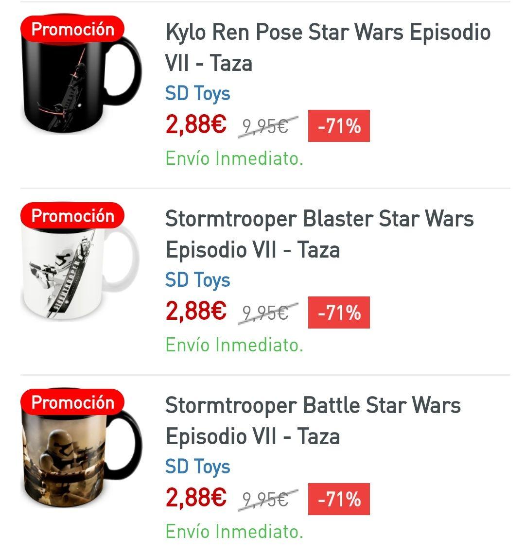 Tazas Star Wars (-71%)