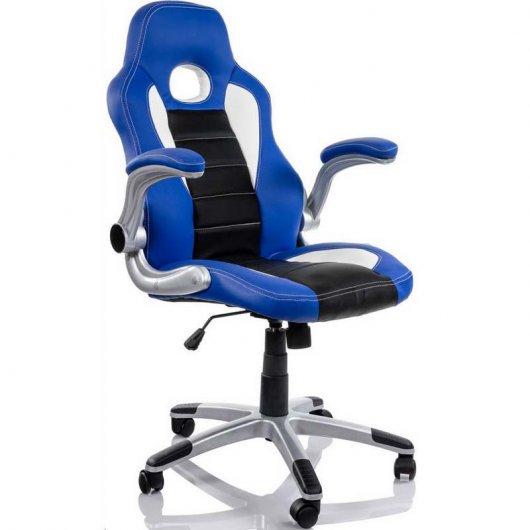 Silla Racing Sports Azul/Negra