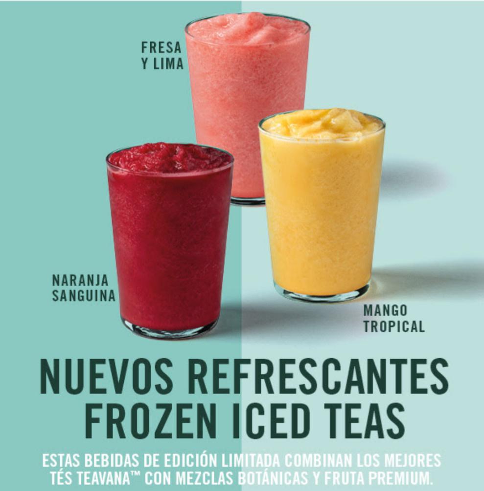 [Starbucks] Frozen Ice Tea GRATIS para socios Platino