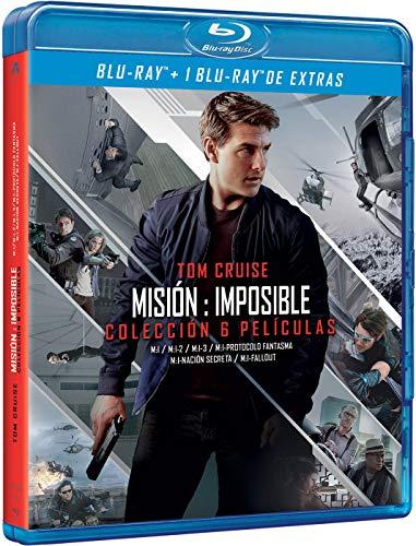 Pack: Misión Imposible - Películas 1-6 + Extras
