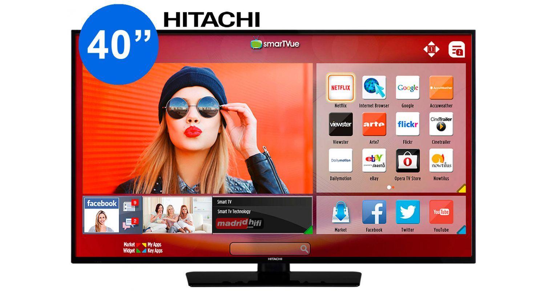 """HITACHI 40HE4001 Tv Led 40"""" Full HD 1080p Smart Tv"""