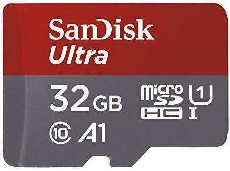 Tarjeta de Memoria 32 GB Micro SD SanDisk Ultra (PRODUCTO PLUS)