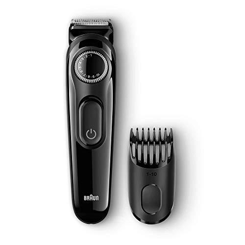 Braun BT3022 - Recortadora barba y cortapelos, con cuchillas afiladas de larga duración