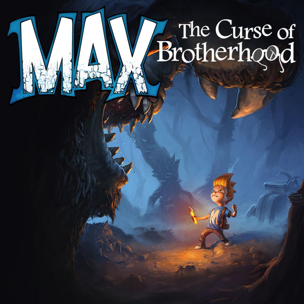 Max: The Curse of Brotherhood (Nintendo Switch, eShop)