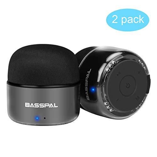 BassPal Altavoces Bluetooth Portátilesw