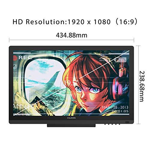 Tableta Grafica HUION KAMVAS GT-191 HD 19.5 pulgadas