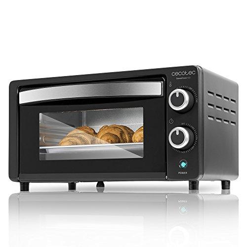 Cecotec Bake&Toast - Horno Eléctrico de Sobremesa 1000 W y 10 Litros