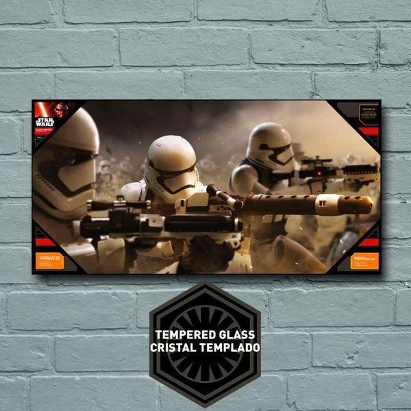 Stormtrooper Battle Star Wars Episodio VII / Vidrio Templado (-73%)