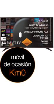 Televisor LG 32 Smart TV LJ610V negro Km0