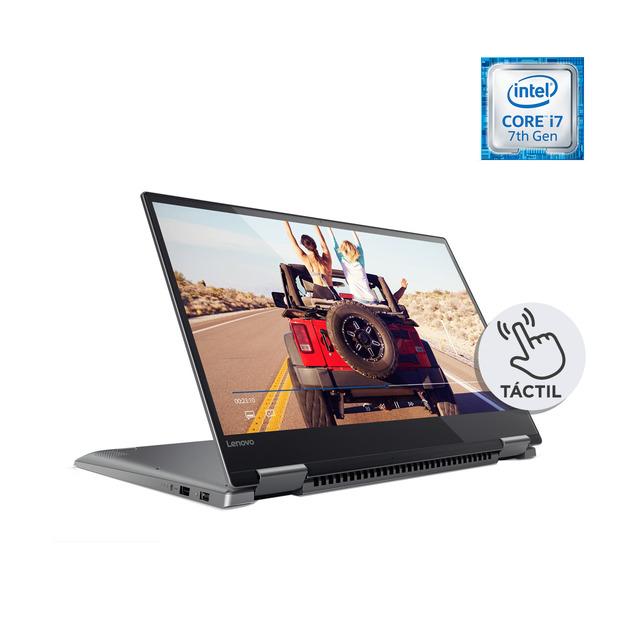 Portátil Convertible Lenovo Yoga 720, i7, 8 GB, 256 GB SSD, GTX 1050 4 GB