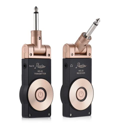 Transmisor eléctrico para guitarra Rowin WS-20 2.4G
