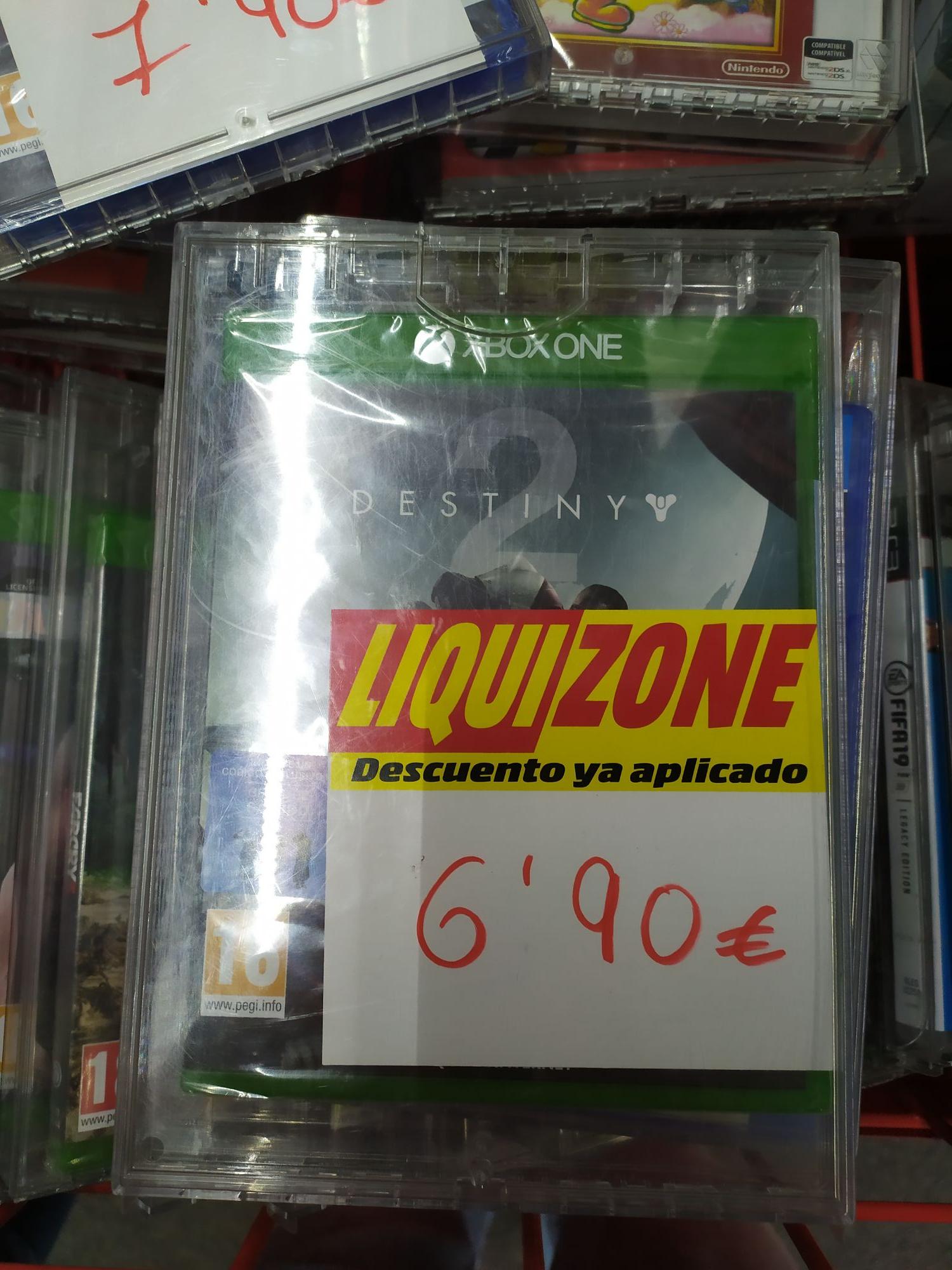 Destiny 2 en MediaMarkt de Colón (Valencia)