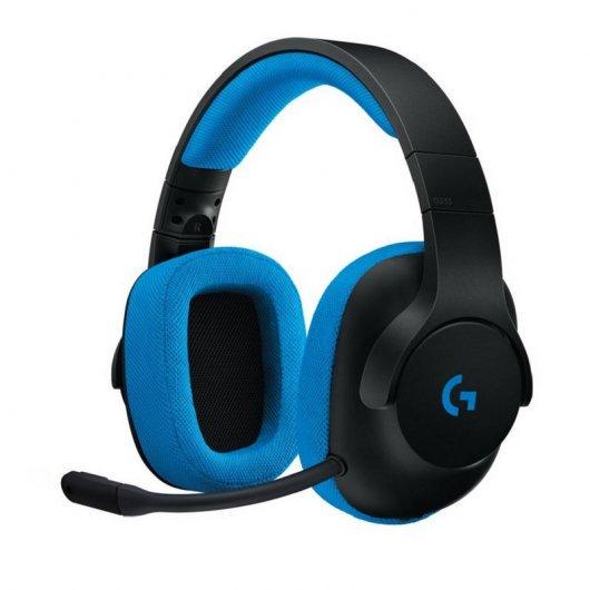 Auriculares Gaming Multiplataforma Negro/Azul